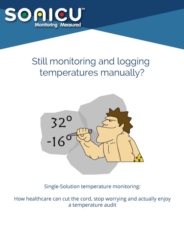 Single-solution-temperature-monitoring