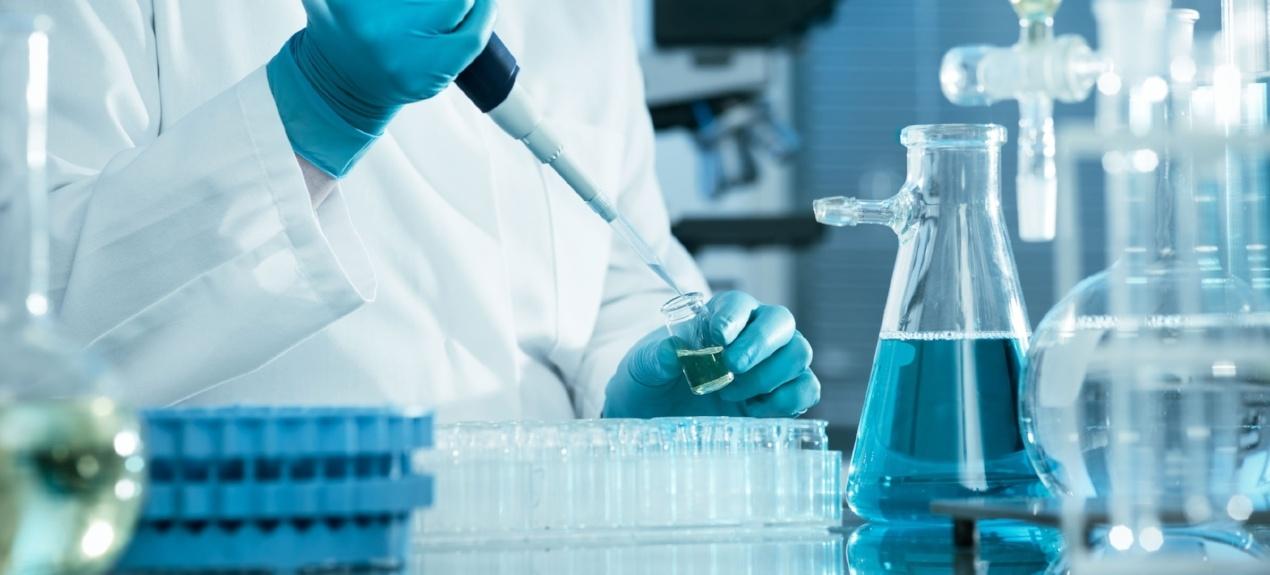 Laboratories - Man doing lab work
