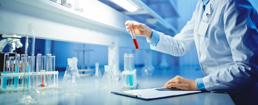 Contract Research Organizations - Man doing lab work