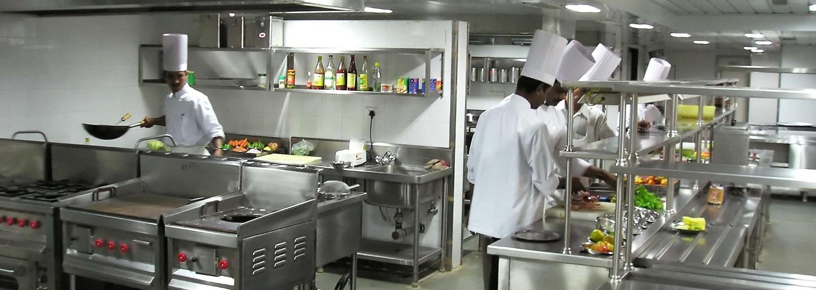 Restaurants - Kitchen staff hard at work