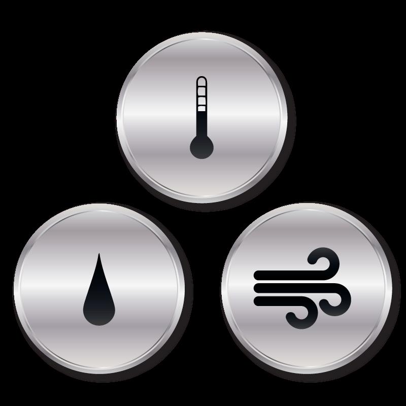 Solutions: Temperature, Humidity, Sound, Pressure