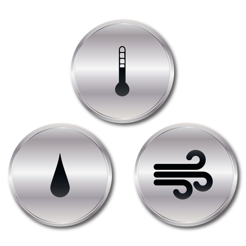 Solutions: Temperature, Humidity, Sound, Pressure