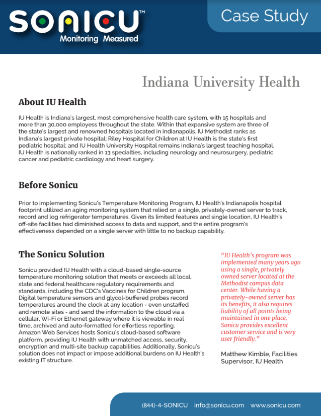 IU Health Case Study Preview