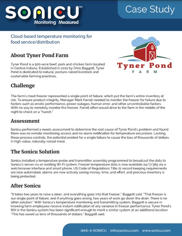 Tyner Pond Case Study