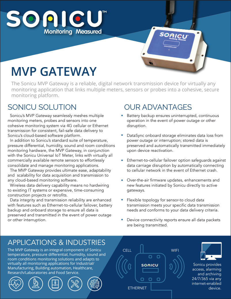 MVP Gateway Data Sheet Thumbnail